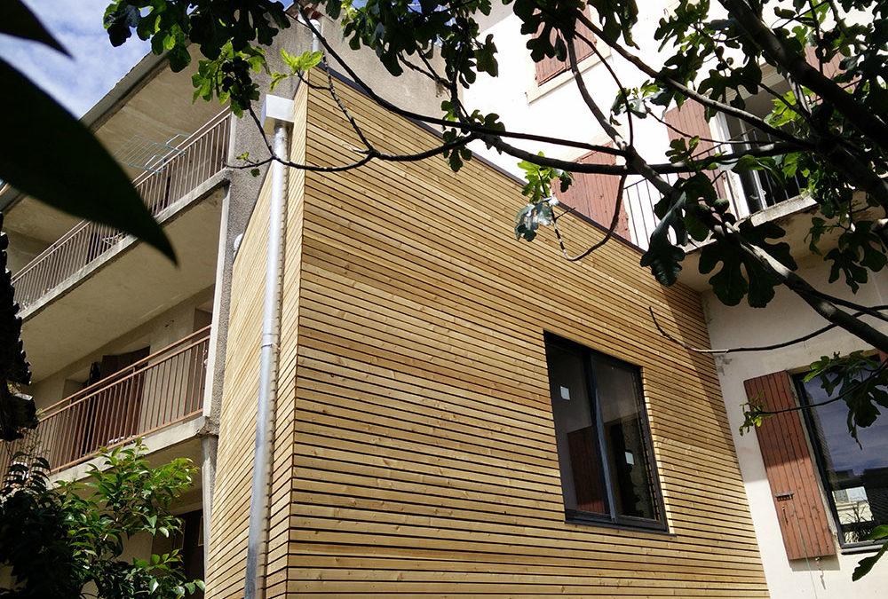 Extension Ossature bois – Crest (26)