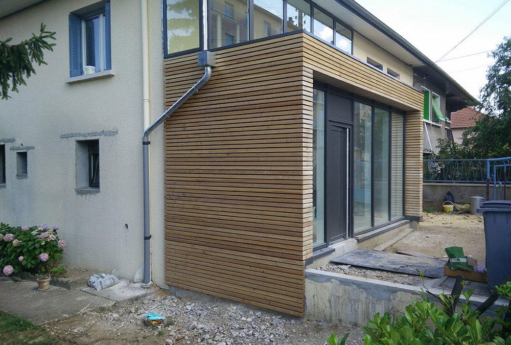 Extension Ossature Bois – Oullins (69)